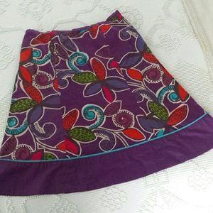 Boden purple skirt